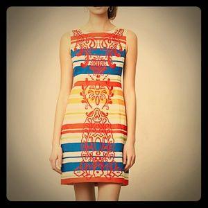 Tabitha Anthropologie Banded Totem Shift Dress